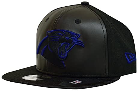 3aba44955 official store leather carolina panthers hat a54a9 28006