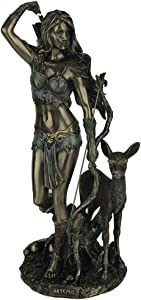 Veronese Artemis Greek Goddess of the Hunt Statue