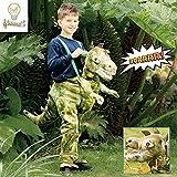 RDI6-LS Ride ON Dinosaur Light & Sound Costume - Age 6-8 Years