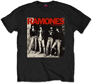 Official Ramones Rocket to Russia Black Unisex T-Shirt Licensed Tee