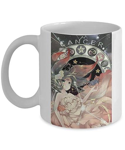 cancer mug 11 oz ceramic coffee horoscope zodiac birth sign cancer best gift ideas for