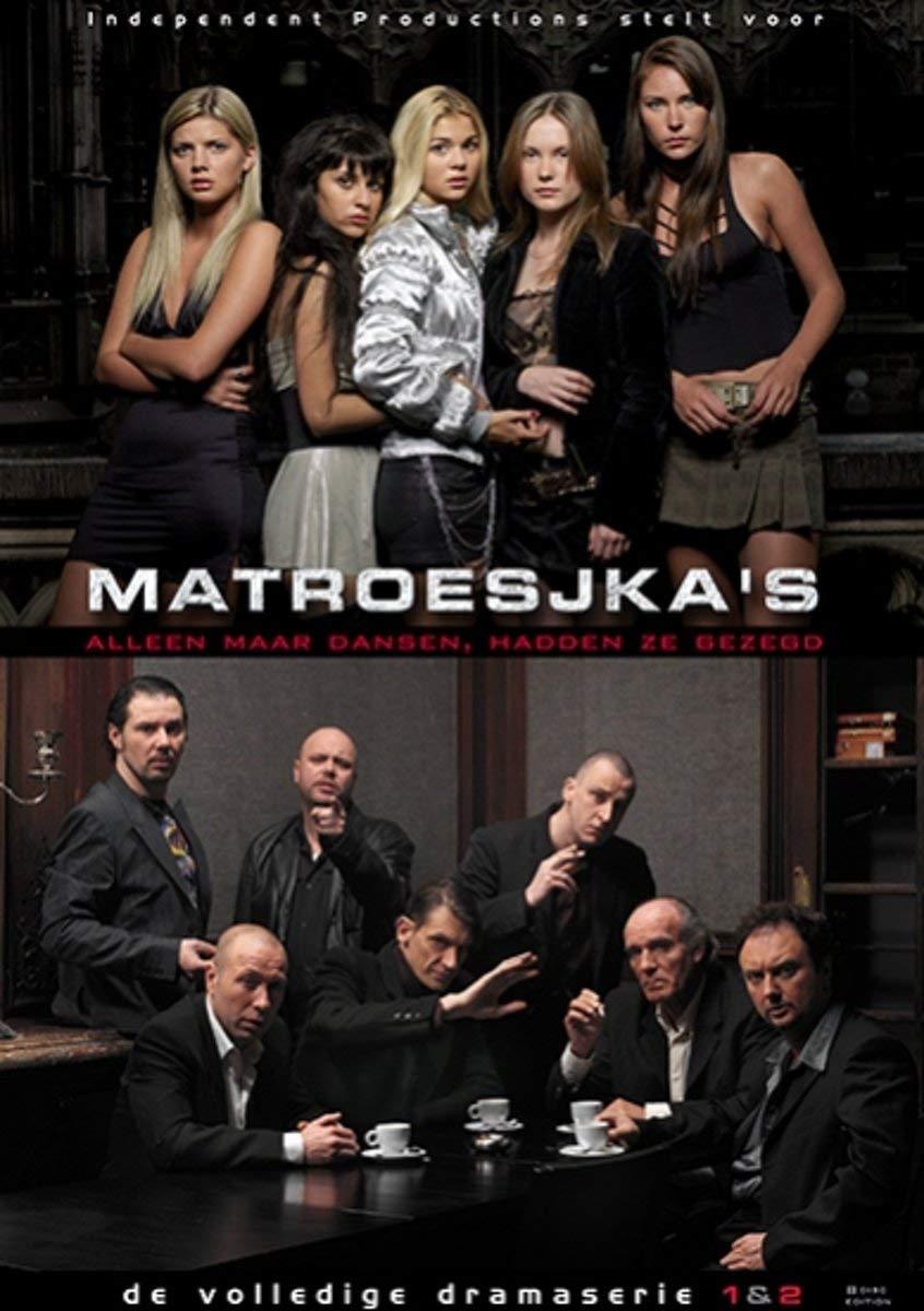 Matrioshki 1 & 2 - 8-DVD Set ( Matroesjka's / Matroesjka's 2 ) ( Russian Dolls: Sex Trade / Matrioshki 2, Three Years Later ) [ NON-USA FORMAT, PAL, Reg.0 Import - Netherlands ]