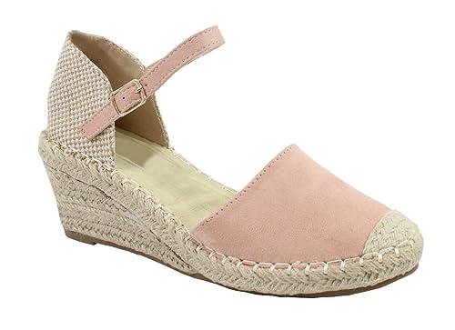 a52c65169463e By Shoes - Espadrille à Plateforme en Corde de Chanvre - Femme ...
