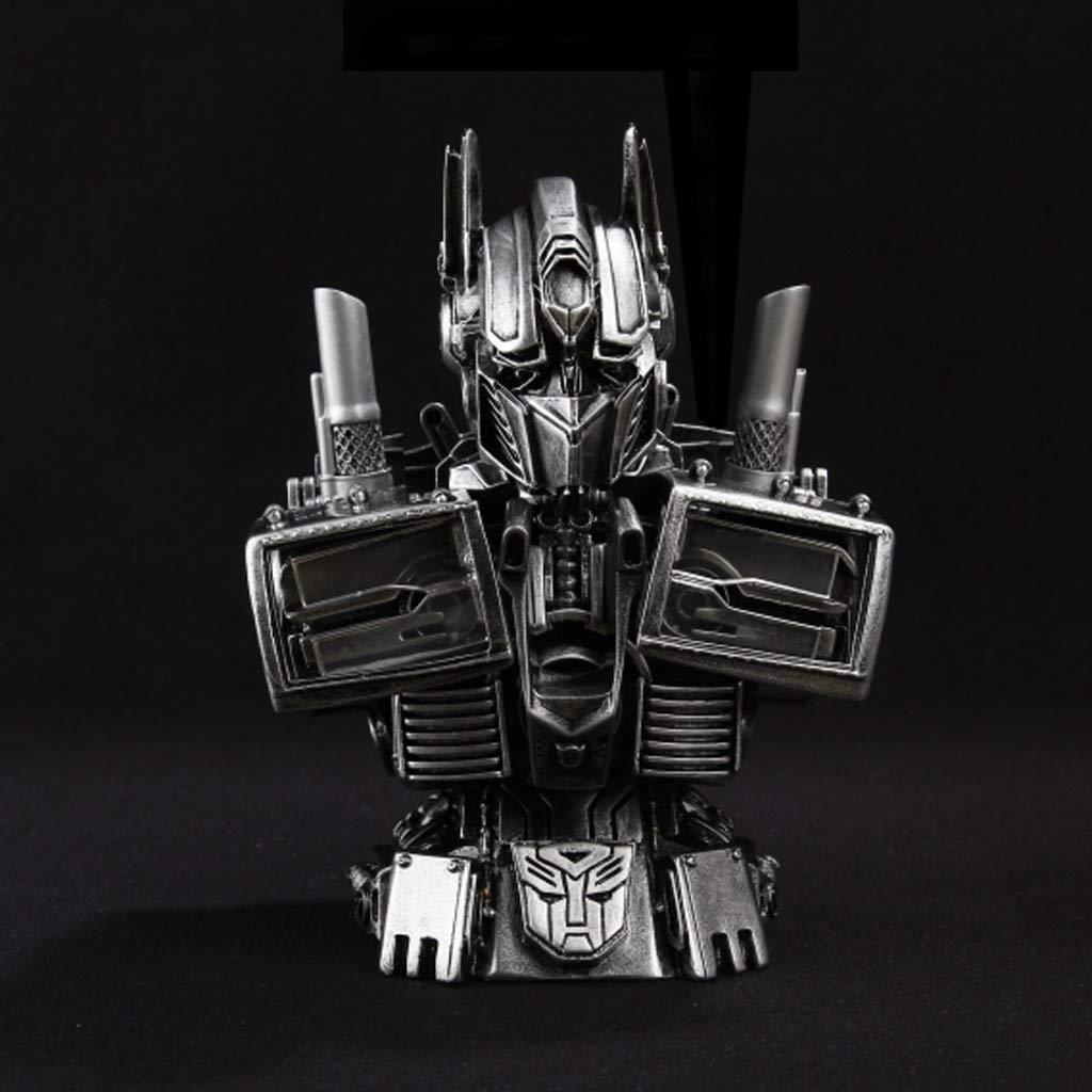 calidad auténtica LXRZLS Transformers Optimus Prime Busto Modelo GK Estatua Decoración Regalo Regalo Regalo Recuerdo 18cm  se descuenta