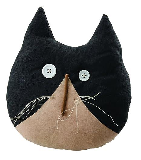 "Amazon.com: CWI Regalos 7.5"" tela Cara de gato almohada ..."