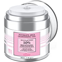 Divine Derriere Intimate Skin Lightening Gel for Body, Face, Bikini and Sensitive Areas - Skin Bleaching Cream Contains…