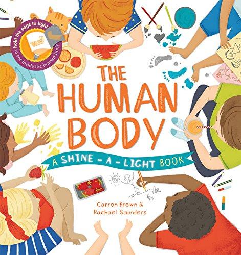 Usborne Shine A Light Books Amazing ShineALight The Human Body Carron Brown Rachael Saunders