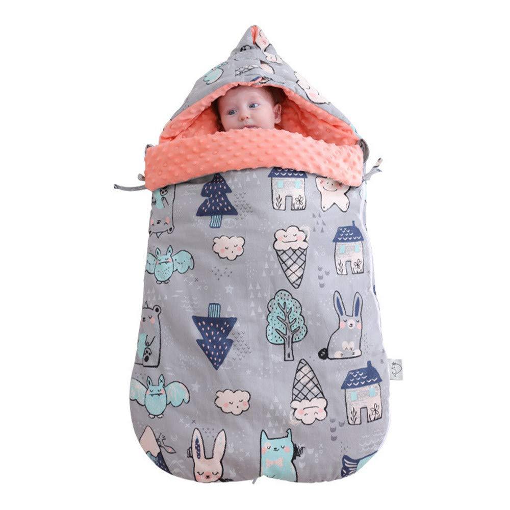3 Colores FNBABY Saco De Dormir para Beb/é Manta del Abrigo del Saco De Dormir del Beb/é Reci/én Nacido por El Beb/é De 0-12 Meses 88cm Los X Calientapi/és De Invierno para Cochecito
