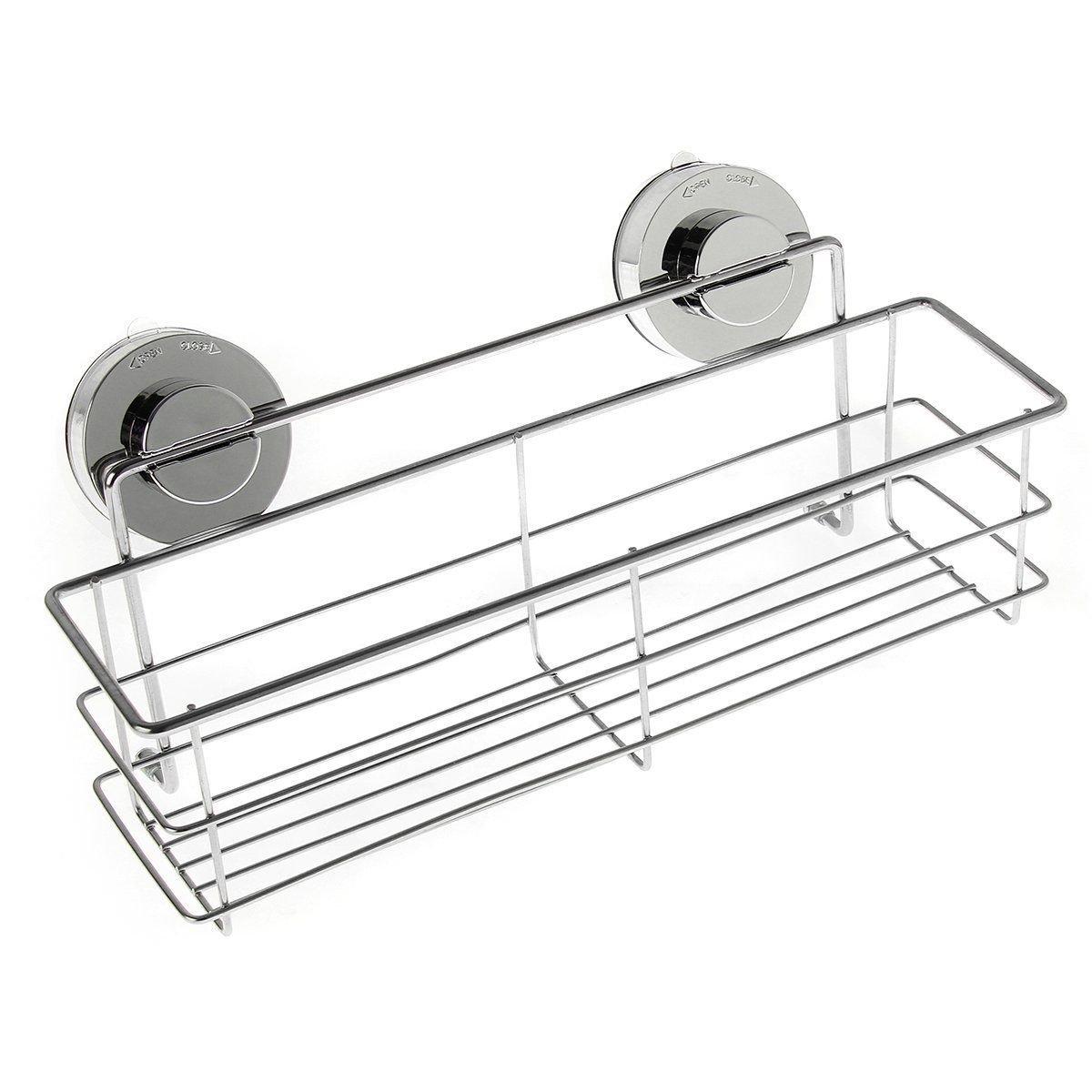 Amazon.com: eungon Shower Caddy Bathroom Shelf Storage Wall Bath ...