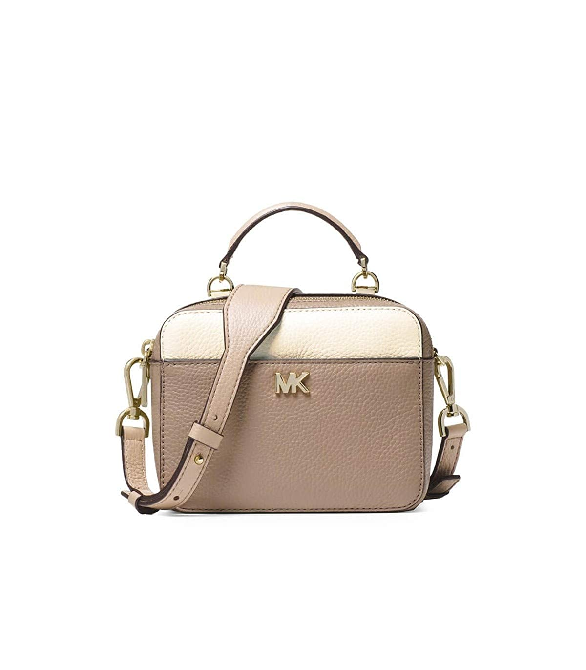 eaf2b1518289 ... usa michael kors mini gtr strap crossbody bag oatmeal amazon clothing  aad51 dafc8