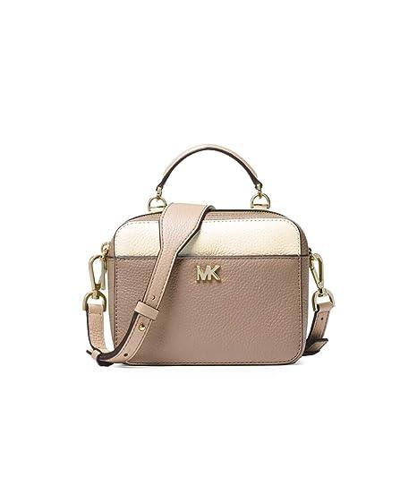 1a5cf830f628 Michael Kors - Mini GTR Strap Crossbody Bag, Oatmeal: Amazon.co.uk: Clothing