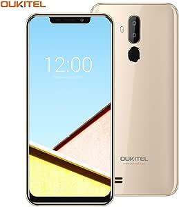 """OUKITEL C12 Pro 4G Smartphone Libre, 6.18"""" HD Quad-Core"""