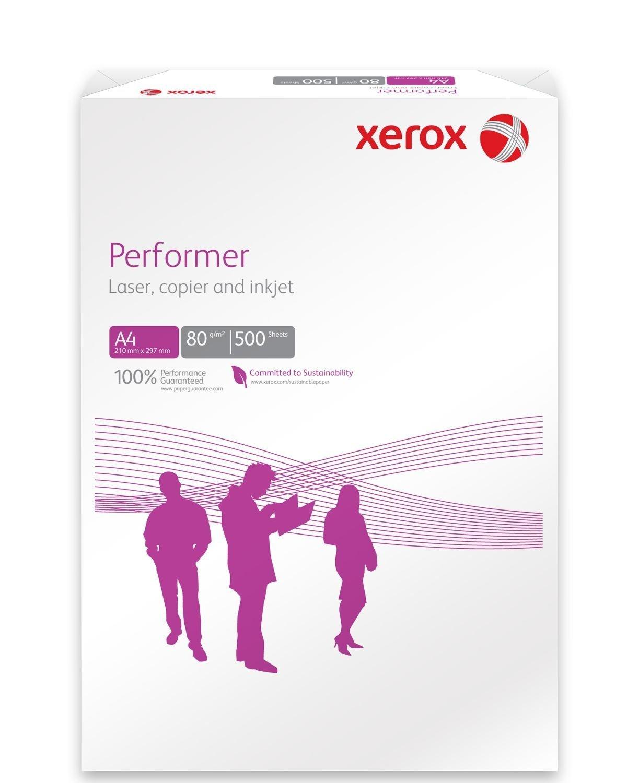 1500 Sheets XEROX A4 HIGH PERFORMER 80G PAPER WHITE INKJET LASER PRINTER /& COPIER 3 Reams
