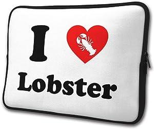 Yongchuang Feng I Love Lobster Sleeve Laptop Bag Tablet Case Handbag Notebook Messenger Bag for Ipad Air MacBook Pro Computer Ultrabook 13-15 Inches