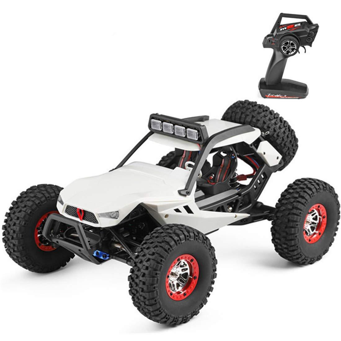 男の子の大人および子供のための道車のおもちゃのスタントカーを離れた軽い電気Rcが付いているリモートコントロール競争車   B07NRTHKLP