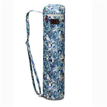 Bolsa de transporte para esterilla de yoga, de Fremous; unisex, con bolsillos de almacenamiento multiusos, portátil, phantom