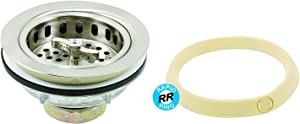 """Prime-Line Products RP32173SNR Rapid Repair Basket Strainer with Putty, 3 1/2"""", Satin/Brushed Nickel"""