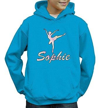 Personalised Kids Ballet Hoodie