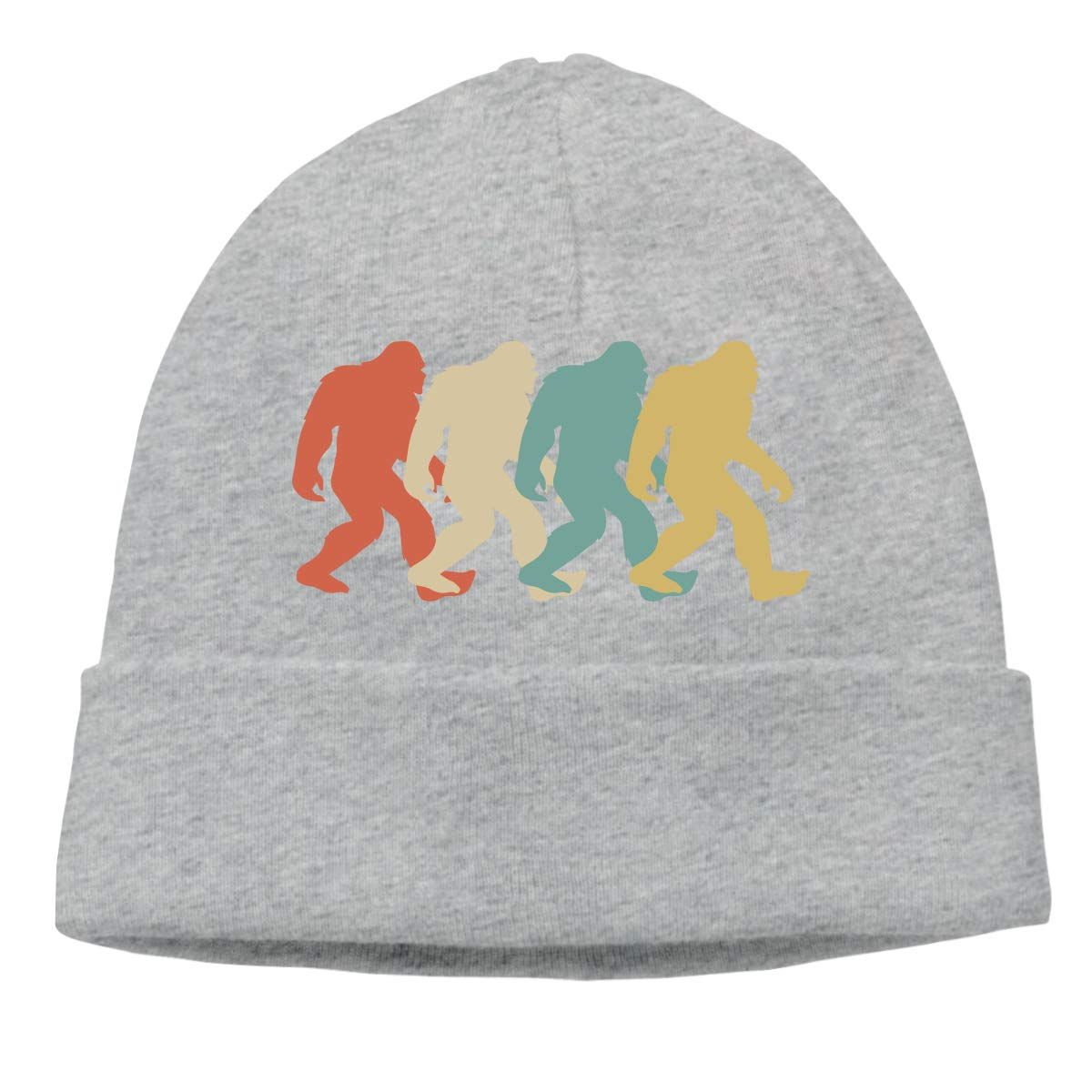 Beanie Hat Retro Bigfoot Sasquatch Warm Skull Caps Men Women