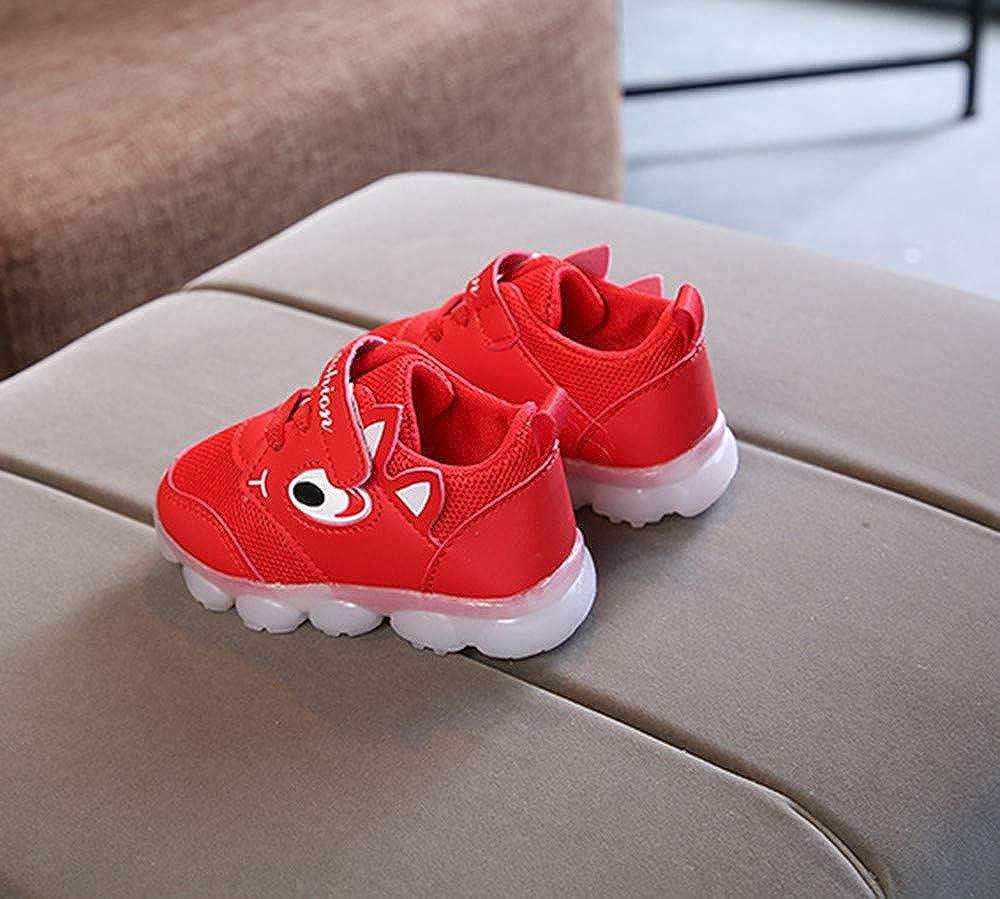 Zapatillas de Deporte con Luces para Ni/ños Ni/ñas Primavera Invierno 2019 PAOLIAN Calzado Running Exterior Ni/ñas Ni/ños Zapatos de Primeros Pasos Beb/és Bautizo Reci/én Nacidos Suela Dura