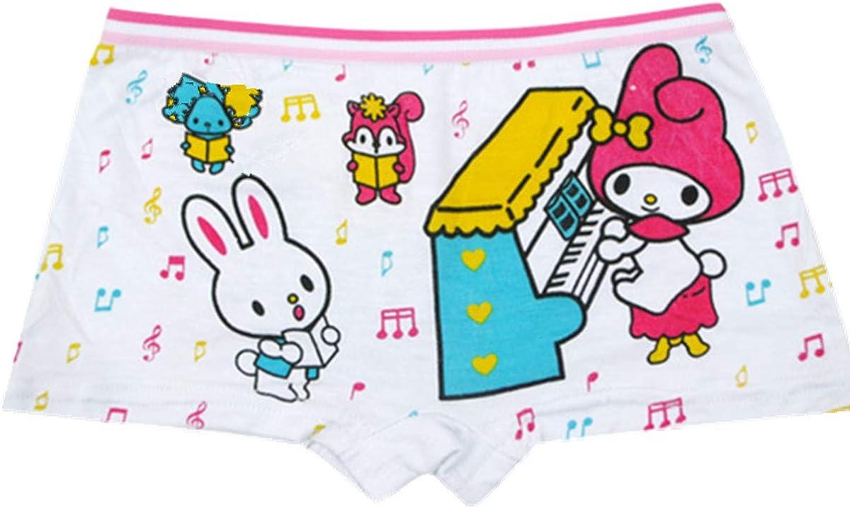 adiasen Girls Underwear Kinckers Boxer Briefs Carttons Modal Cotton,Pack of 12