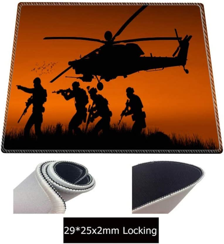 IXNSZ Mouse Pad Plane Ultra Large Rubber Keyboard Mat Gaming Mouse Pad Locking Edge Table Mat for Pc Laptop