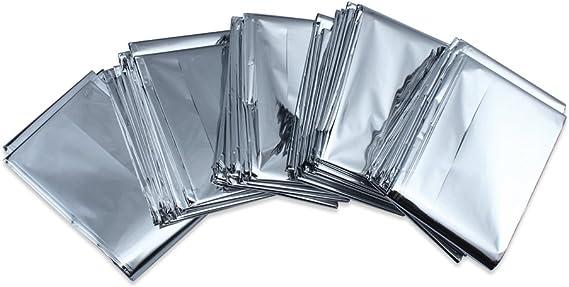 Paquete De 5 Supervivencia en Emergencias Manta carpa de aluminio ...
