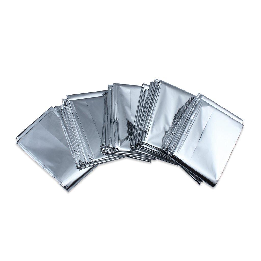 Paquete De Supervivencia Emergencias Manta carpa de aluminio a prueba de Solar