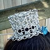 Chainmaille Tiny Hat Byzantine Lace