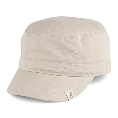 Gorra militar de algodón de Kangol - Beige: Amazon.es: Ropa y ...