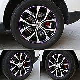 #3: GOGOLO Universal Car Rim Protector Blade 8 Meter, Anti Scratch Car Wheel Rim Edge Reflective Guard Stripe for All Vehicle Wheels from 16