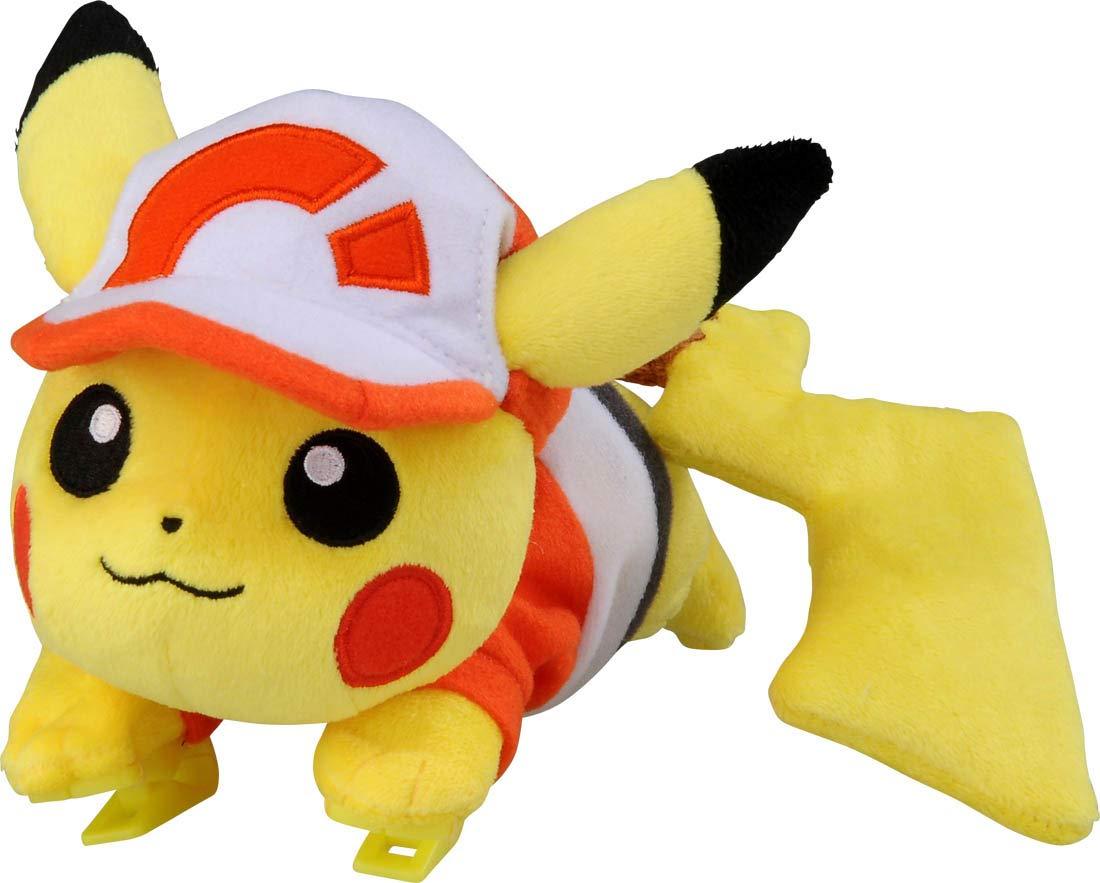 TAKARA TOMY Pokemon Let's Go!: Shoulder Clip Pikachu Plush by Takara Tomy