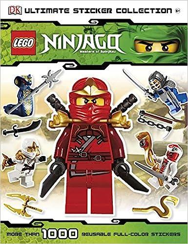 Lego Ninjago Legacy Sticker LEERALBUM album de scrapbooking neuf album