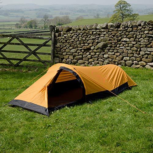 Snugpak Journey Solo Backpacking Tent, Sunburst Orange
