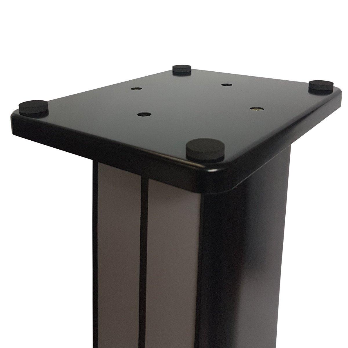1 Paar High-End MDF Boxenständer in 2 edlen edlen edlen zeitlosen Designs (Nussbaum) f9c876