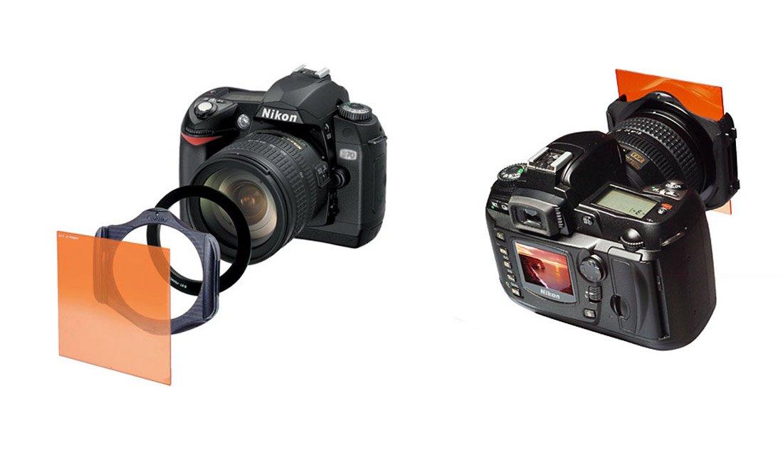 Kit de filtros Densidad Neutra degradados COKIN W300-02