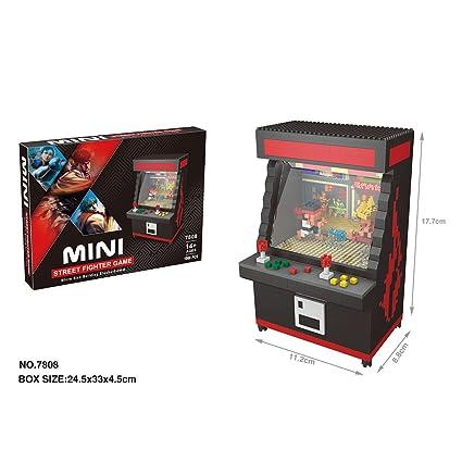 Juguetes de bloques de construcción con los modelos de juego Arcade Máquina