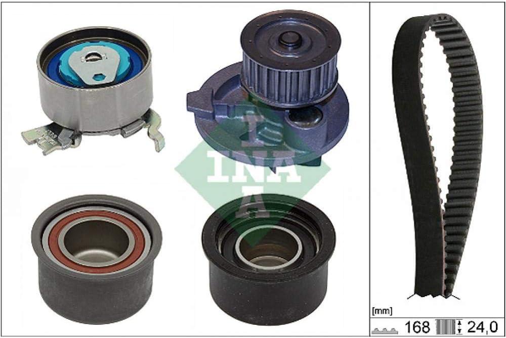 Wasserpumpe Zahnriemensatz INA 530 0444 30 Wasserpumpen-//Zahnriemensatz K/ühlung