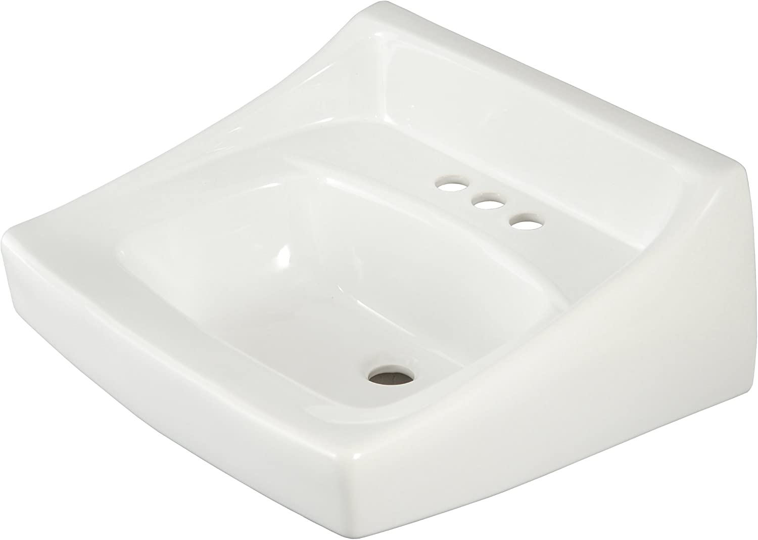 Toto LT307.4#01 4 CTR Wall Mount Lavatory Inch Centerset Cotton White