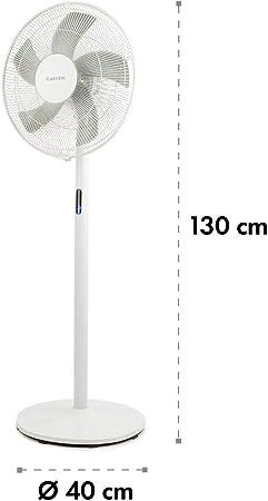 KLARSTEIN Flex Stream - Ventilador de pie, Tecnología WhisperFlow ...