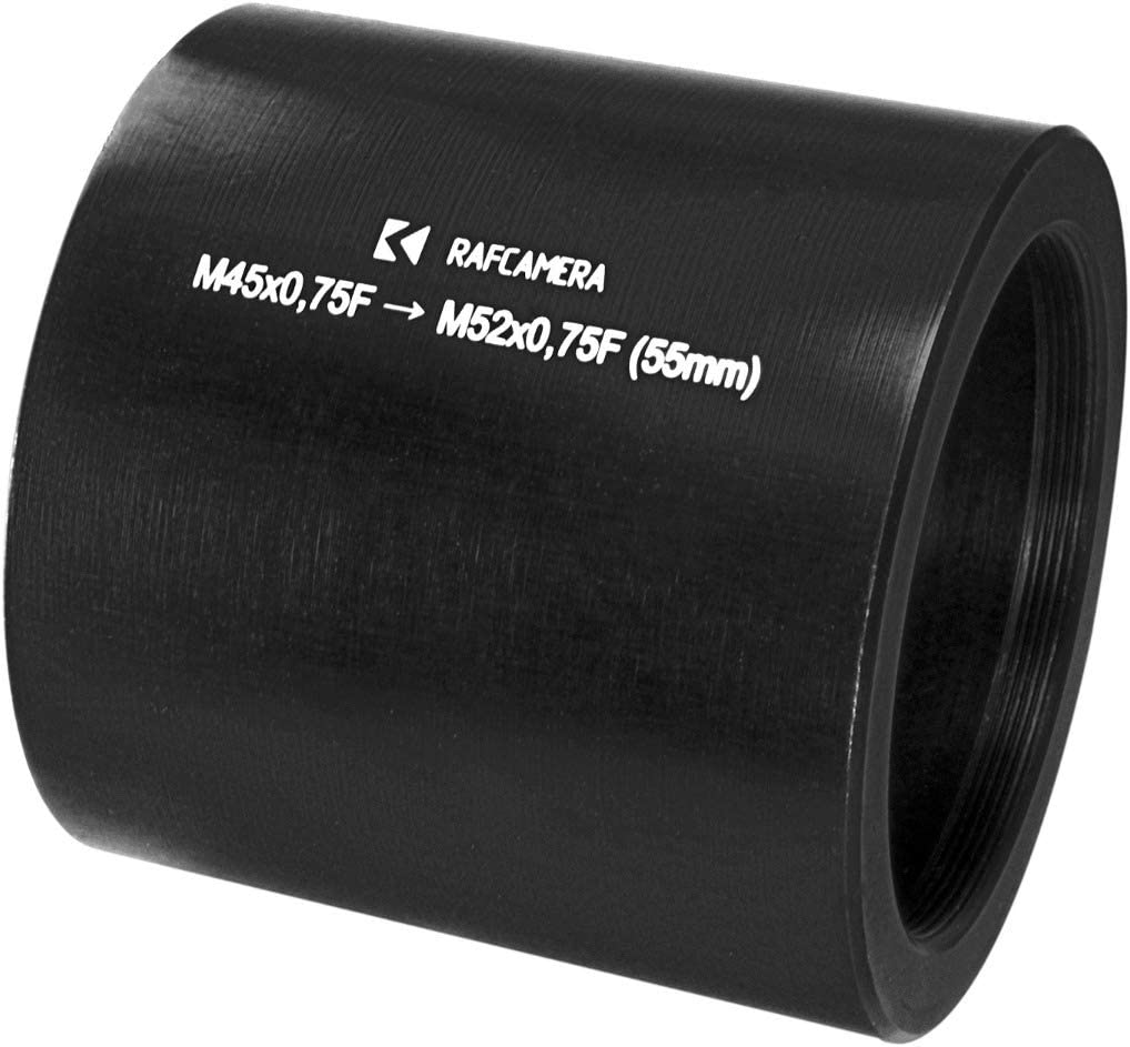 M52x0.75 to M45x0.75 Thread Adapter for Printing Nikkor 105mm Lens 55mm Long