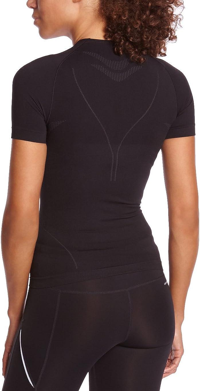 Misura XL Colore: Nero Odlo/ /Maglietta di Campeggio e Trekking per Donna