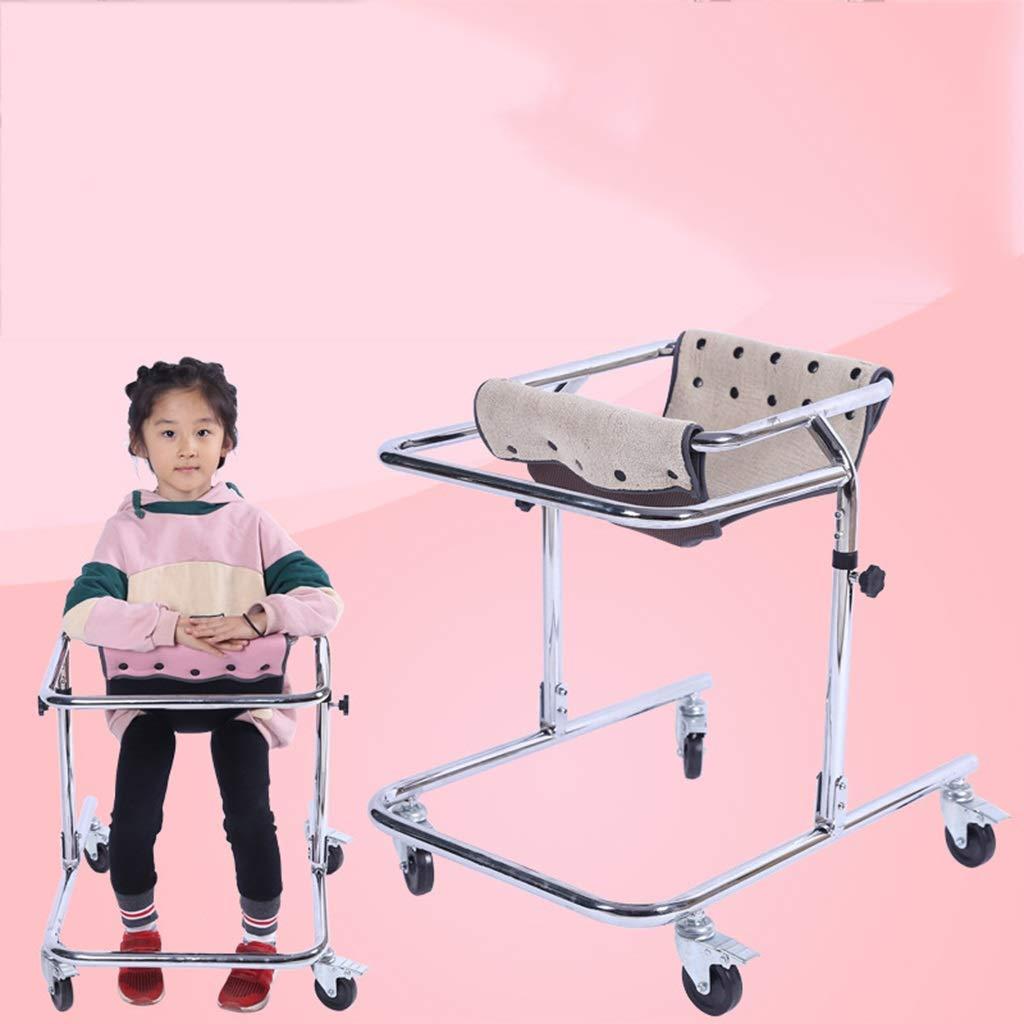 EGCLJ Andador plegable con ruedas para niños - Caminador de ...