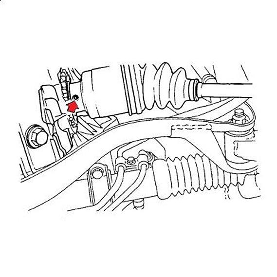 Amazon Com Company23 Axle Pin Tool For Subaru Automotive