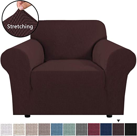 Chair Cover Armchair Protector Cloth Washable Stretch Slipcover Wear Resistant