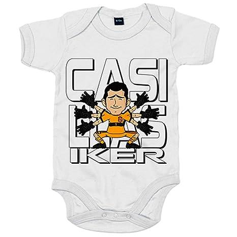 Body bebé Iker Casillas ilustración el mejor portero de la ...