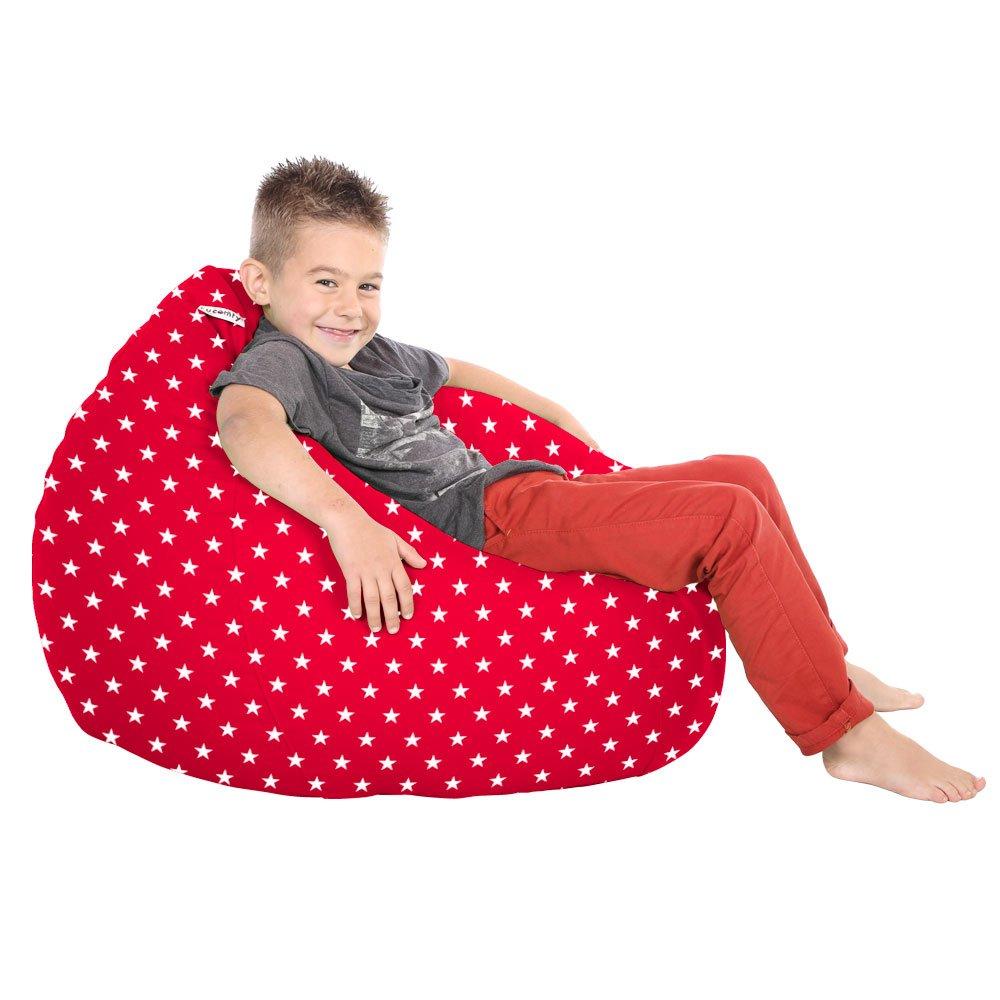 rucomfy Bean Bags Trend Kids Classic Stars Bean Bags (Navy)
