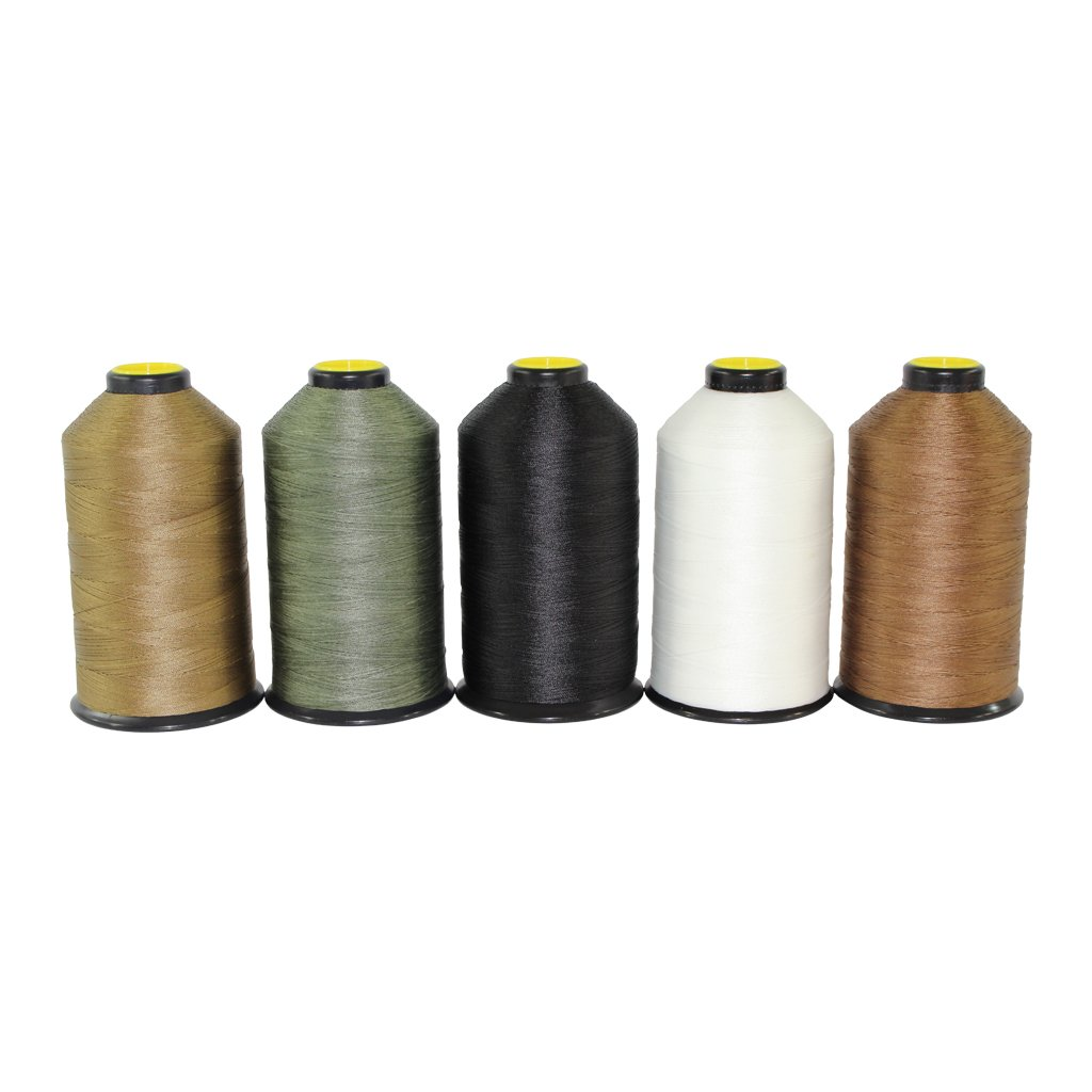 Bonded Nylon Thread #69 - SGT KNOTS - Milspec Thread - Military Grade Nylon Sewing Thread - for Leather Stitching, Canvas Repair, Gear Modification, Upholstery, More (8 oz. Spool - Tan 499)