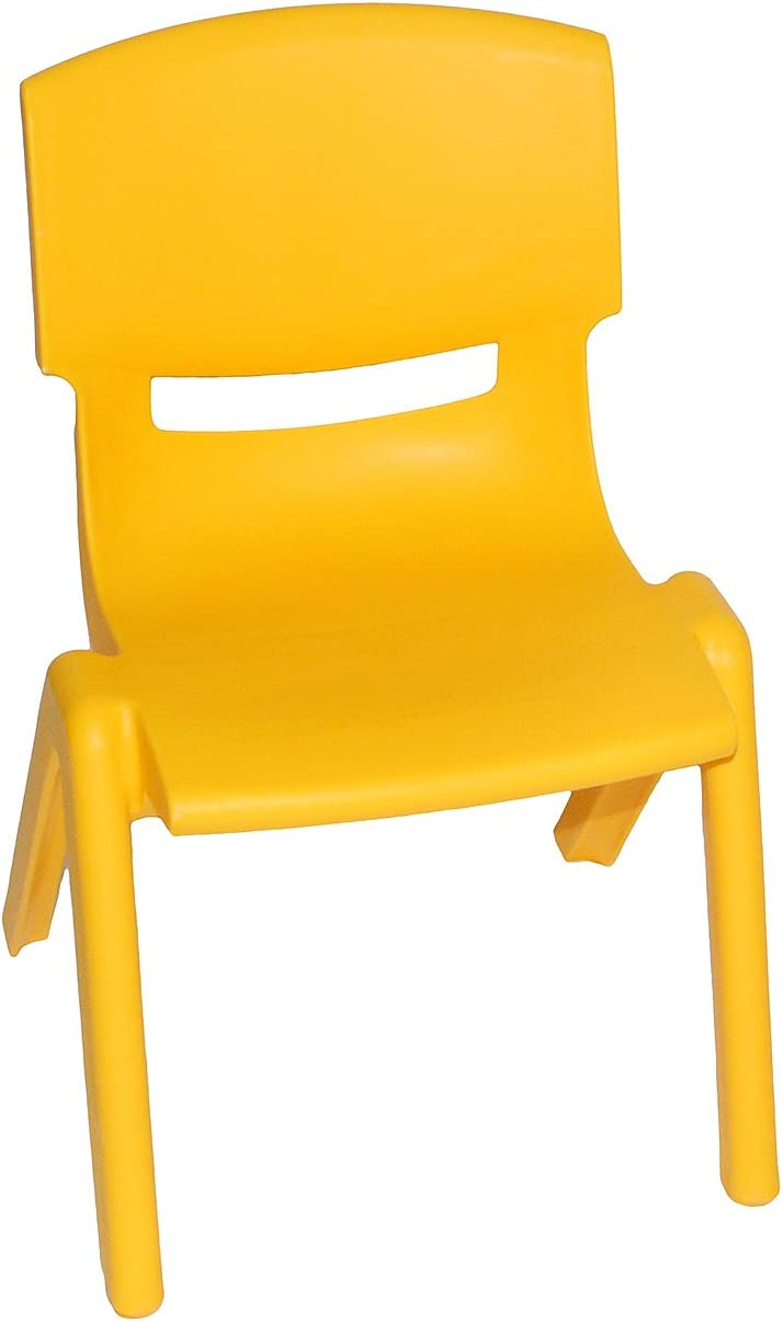 Set: Kinderst/ühle incl Plastik // Kunststoff -.. Namen GR/ÜN ROT alles-meine.de GmbH 4 TLG BLAU f/ür AU/ßEN /& INNEN GELB bis 100 kg belastbar // stapelbar // kippsicher
