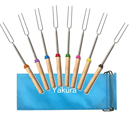 Amazon.com: Brochetas de Marshmallow Roasting Sticks ...